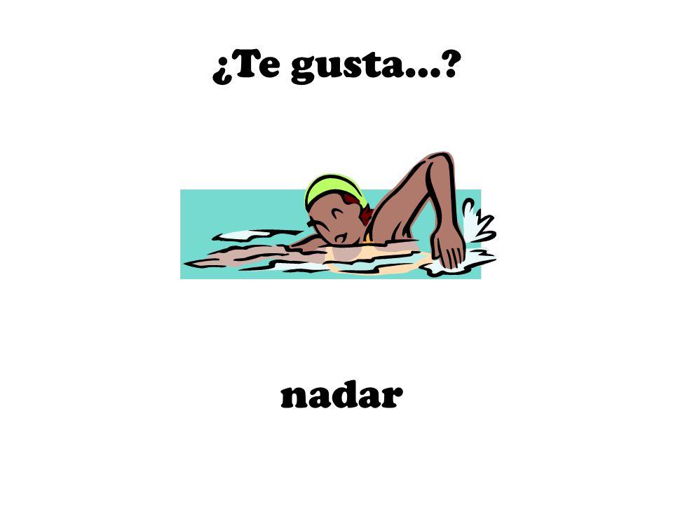 nadar ¿Te gusta…