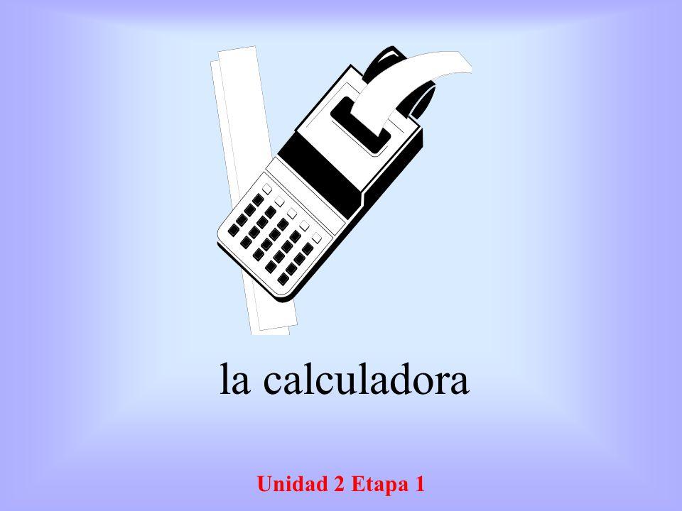 Unidad 2 Etapa 1 El español Spanish