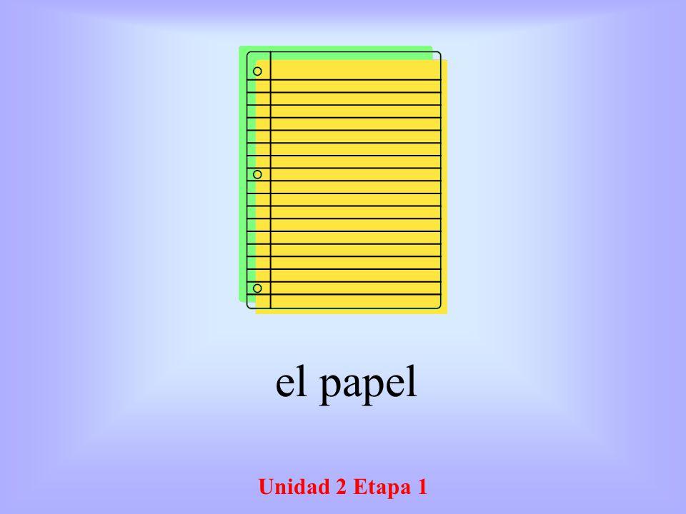 Unidad 2 Etapa 1 El inglés English