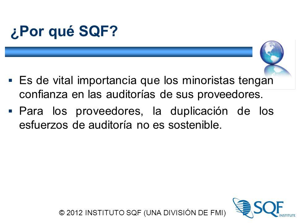 ¿Por qué SQF.