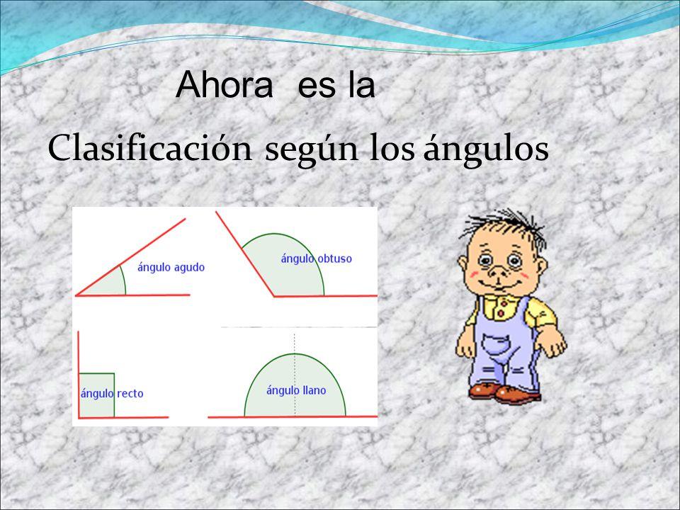ACUTÁNGULO Sus 3 ángulos interiores son agudos, es decir, menores que 90º.