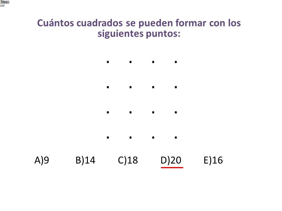 ¿Qué figura sigue en la serie? A)B)C)D)E)