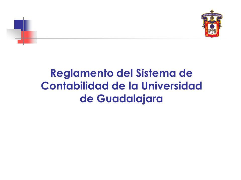Reglamento del Sistema de Contabilidad de la Universidad de Guadalajara