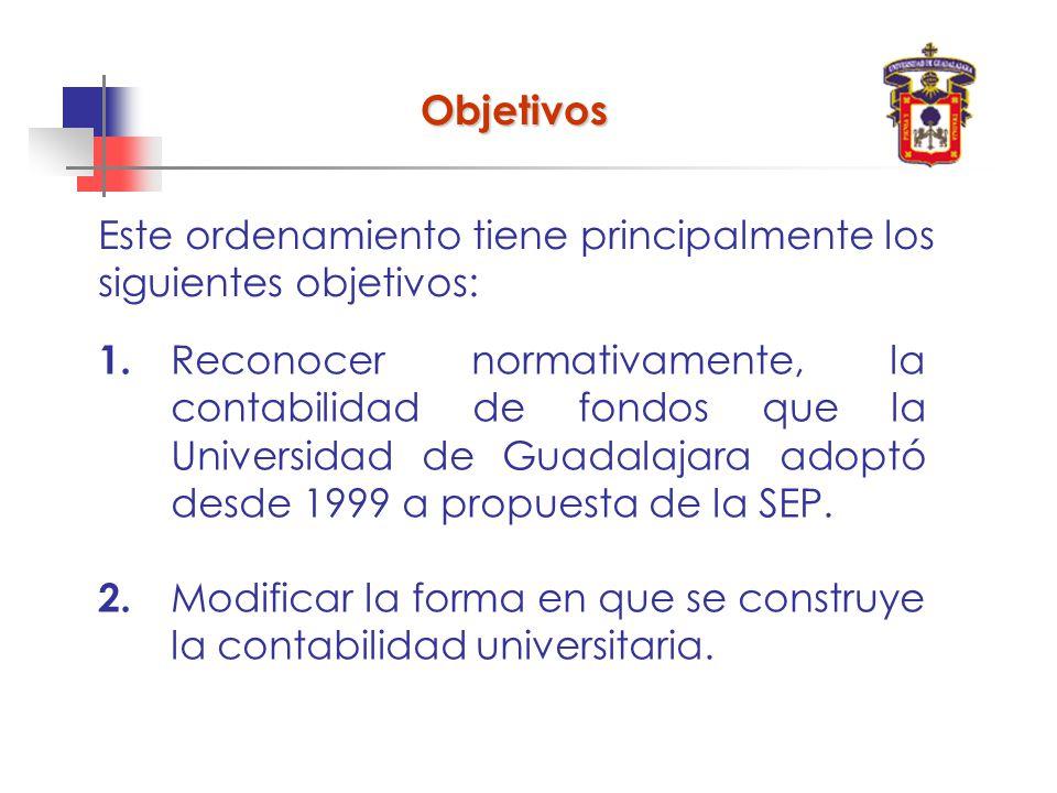Este ordenamiento tiene principalmente los siguientes objetivos: Objetivos 1.