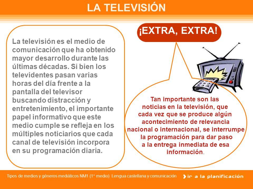Tipos de medios y géneros mediáticos NM1 (1° medio) Lengua castellana y comunicación LA RADIO La radio es uno de los medios masivos de información con mayor presencia en todas las sociedades modernas.