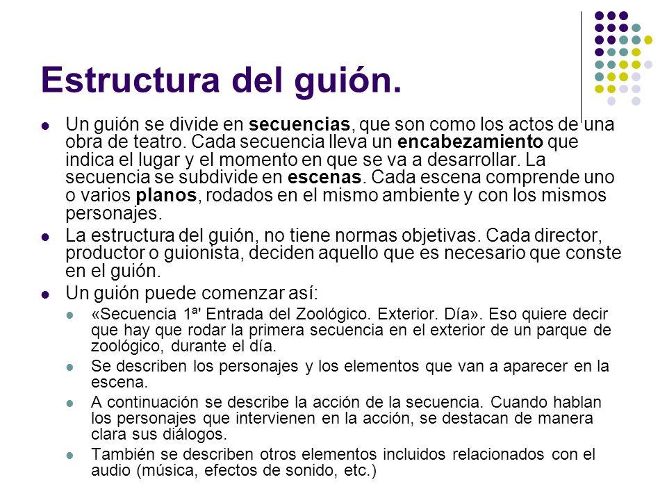 Resultado de imagen de GUION DE CINE Y TEXTO TEATRAL SEMEJANZAS