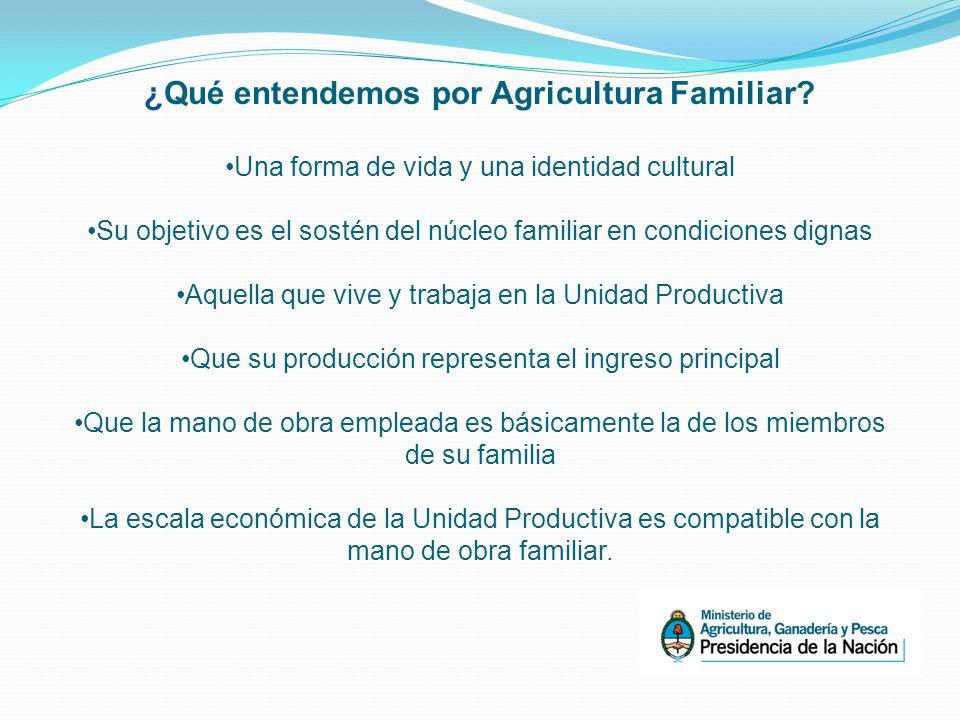 ¿Qué entendemos por Agricultura Familiar.