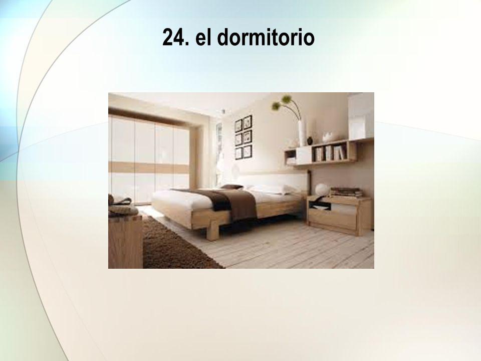 24. el dormitorio