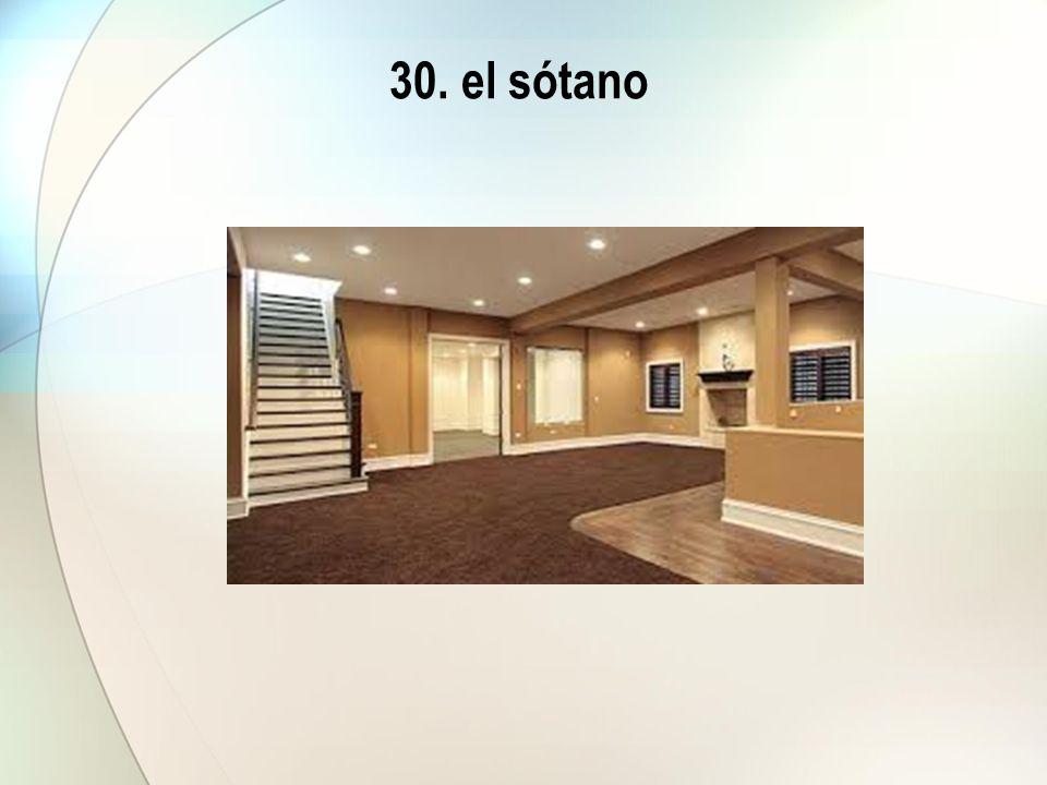 30. el sótano