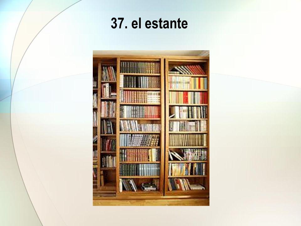 37. el estante