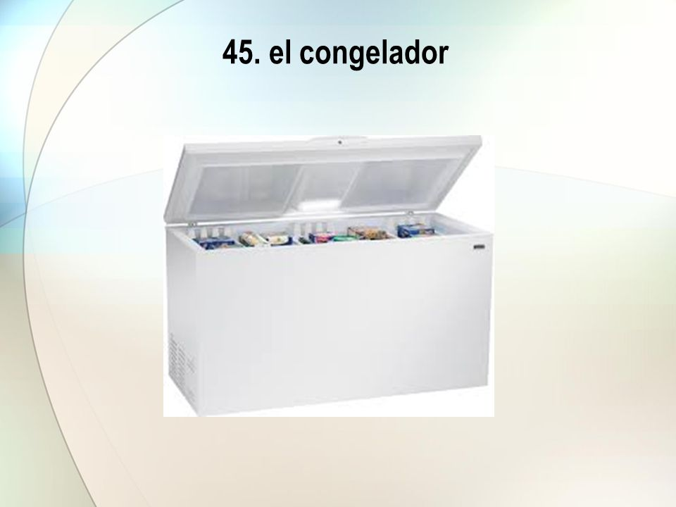 45. el congelador