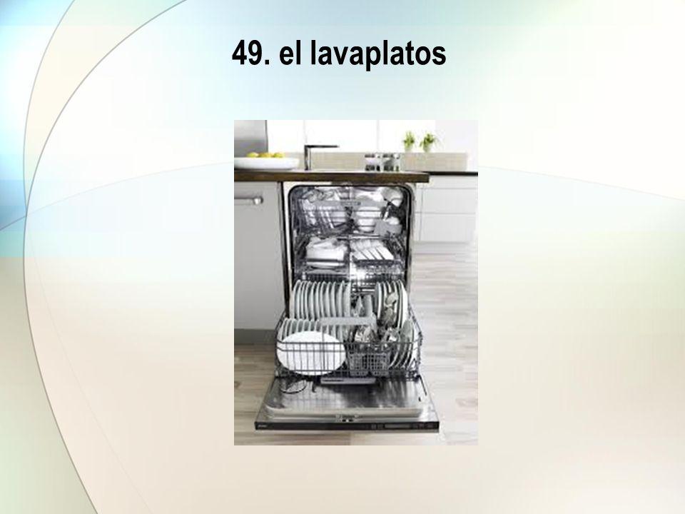 49. el lavaplatos