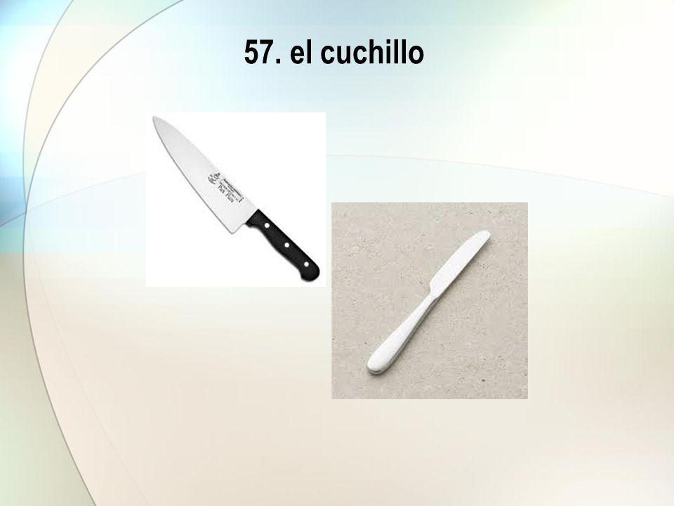 57. el cuchillo