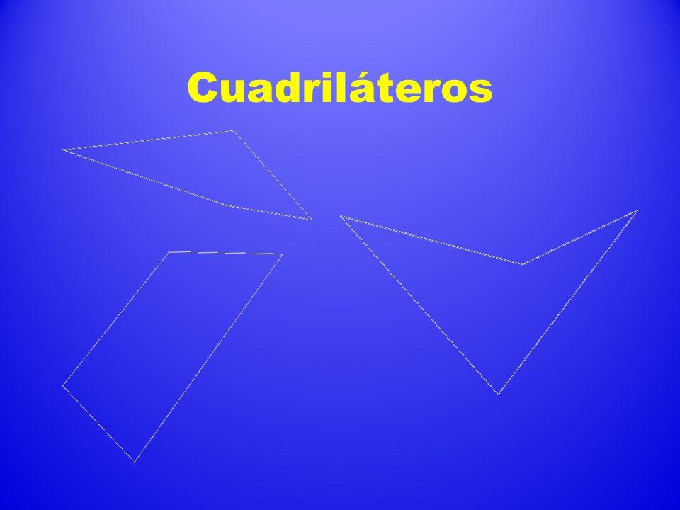 Ejes de simetría Eje de simetría: Es una recta que divide a una figura en 2 partes iguales