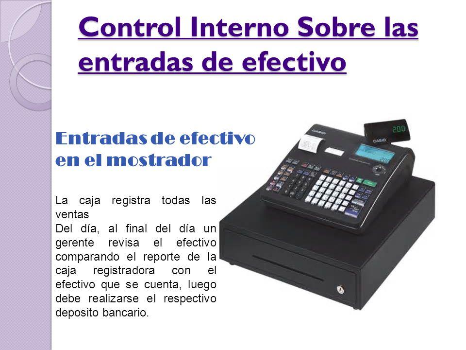 Entradas de efectivo por correo CUARTO DE CORREO Cheques Avisos de remesas Tesorero Depto.