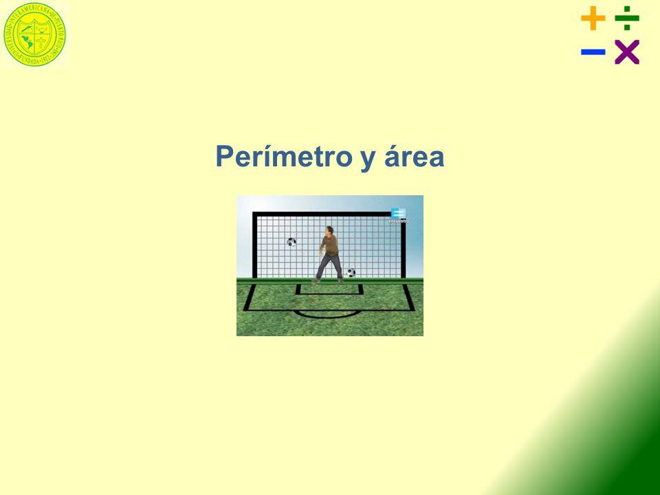 Contenido Objetivos Definición del término perímetro Definición del término área Perímetro y área de un paralelogramo Perímetro y área de un rectángulo Perímetro y área de un cuadrado Perímetro y área de un triángulo Perímetro y área de un trapecio Circunferencia de un círculo Área de un círculo