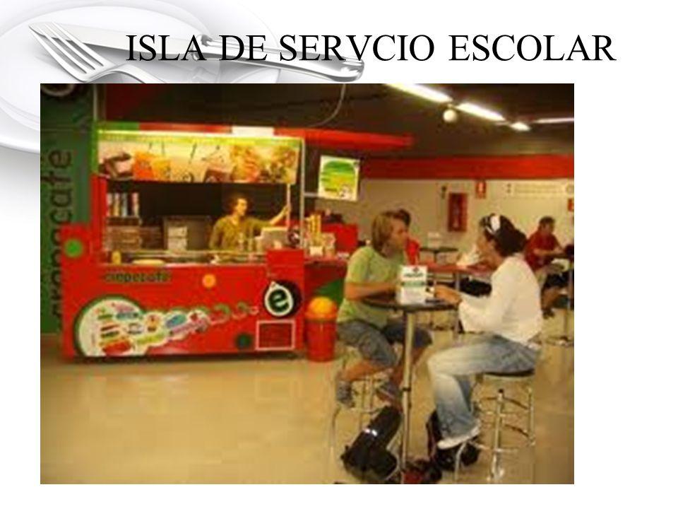 ISLA DE SERVCIO ESCOLAR