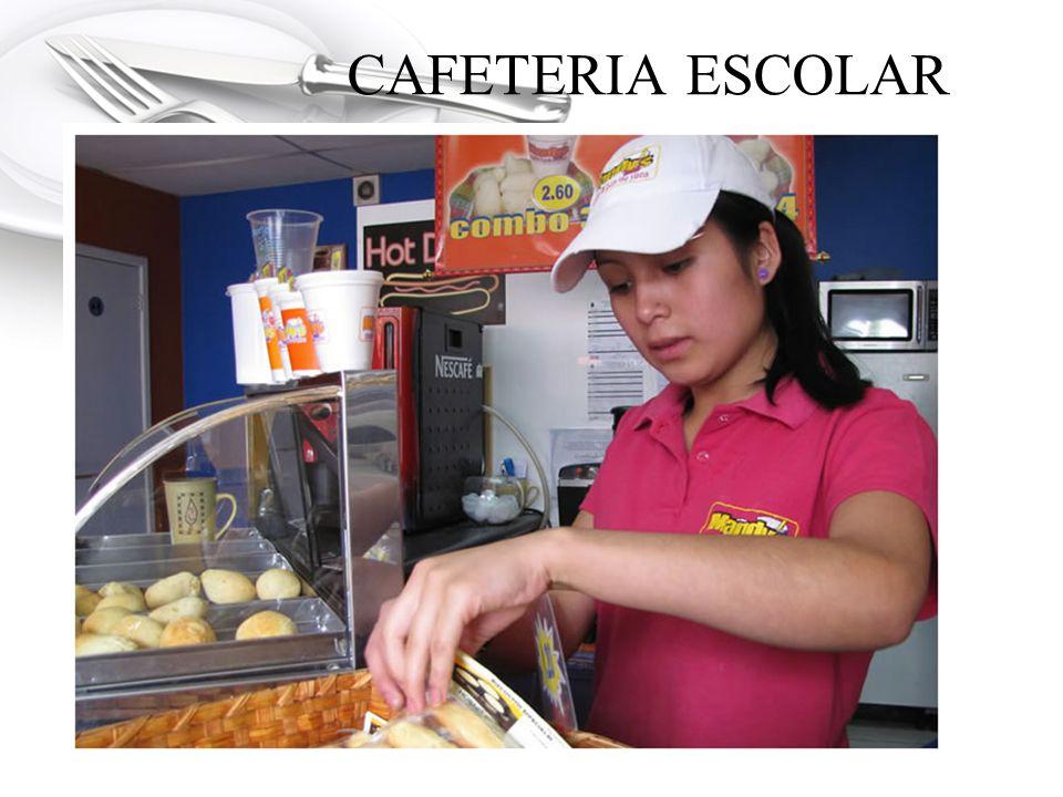 CAFETERIA ESCOLAR