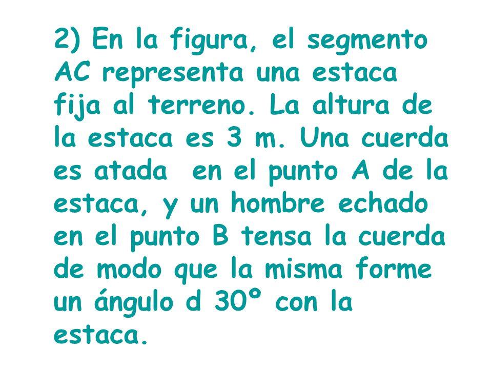 9) Observa la figura y determina la altura de la Torre Eiffel. 367,2 m 30º 60º