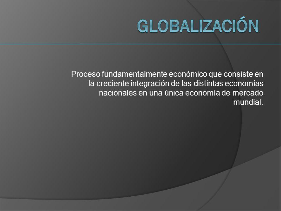 las tendencias de la economia mundial: