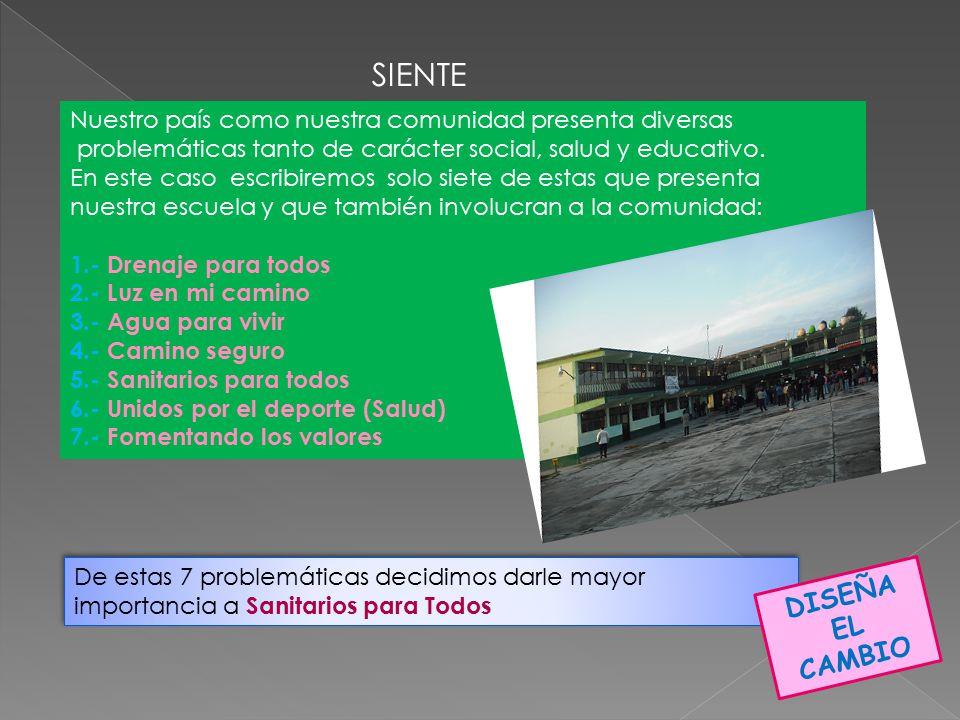HAZ Todos los alumnos de primero, segundo y tercer año apoyaron con la limpieza de la parte trasera de los baños.