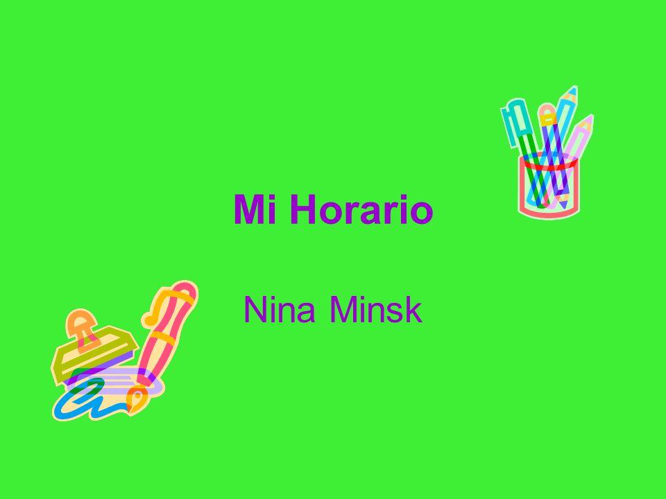 Mi Horario Nina Minsk