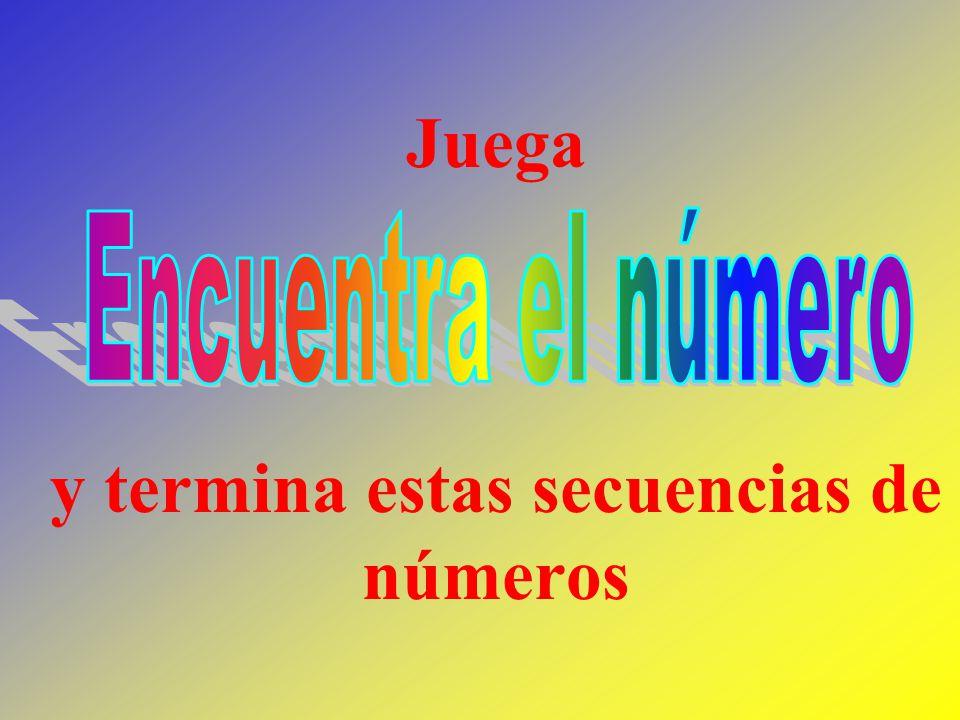 Aquí hay una secuencia de números ¿Qué número continuará en la secuencia.