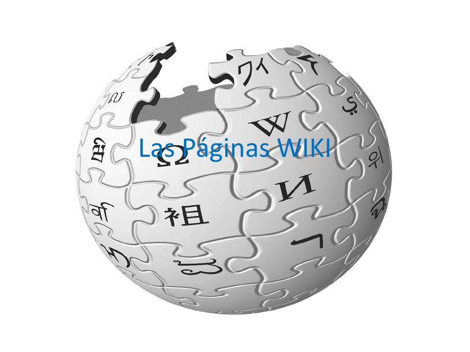 ¿Que son.Es un sitio web colaborativo que puede ser editado por varios usuarios.