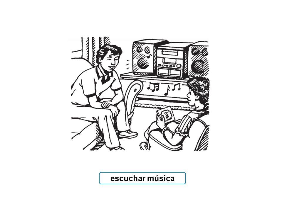 escuchar música
