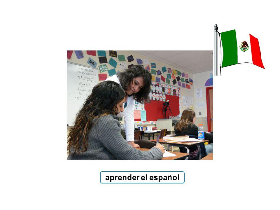 aprender el español