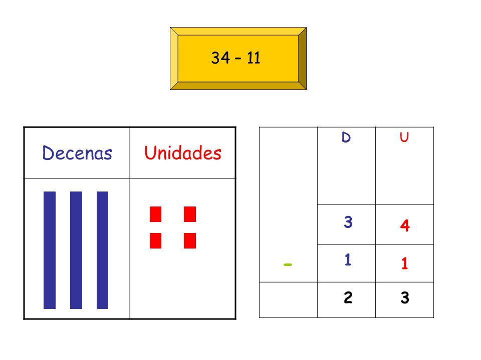 DecenasUnidades DU 4 1 3 1 - 32 34 – 11