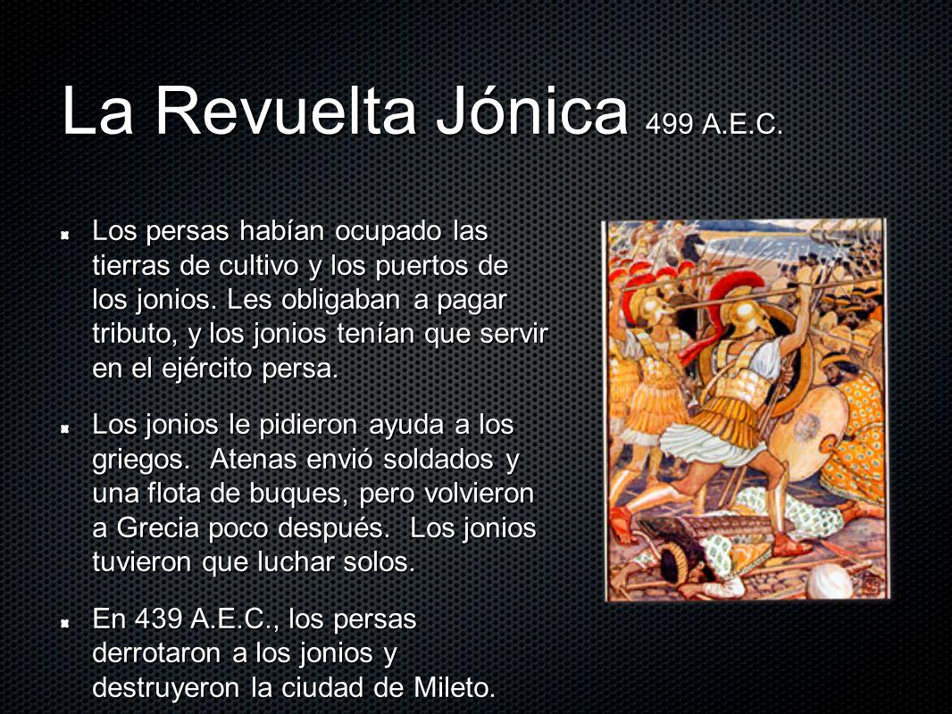 La Revuelta Jónica 499 A.E.C.
