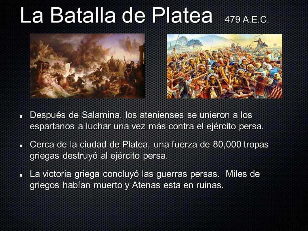 La Batalla de Platea 479 A.E.C.