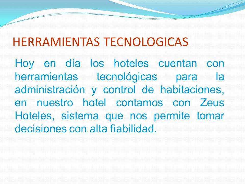 La administración del control de habitaciones comienza con la lectura de los diferentes listados que ofrece el sistema, estos son: Habitaciones Según Estado Forecast Room To Sell.