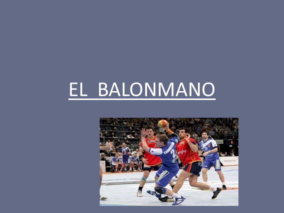 ¿ DÓNDE SE JUEGA .El balonmano se juega en una cancha de dimensiones 20 x 40 m.