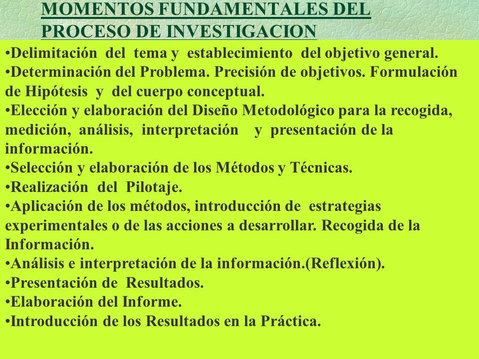 Aplicación y recogida de la información Análisis e interpretación ...
