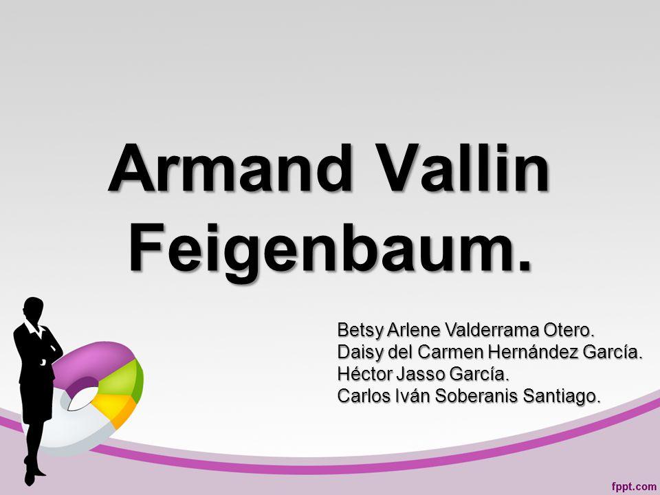 Armand Vallin Feigenbaum.Betsy Arlene Valderrama Otero.