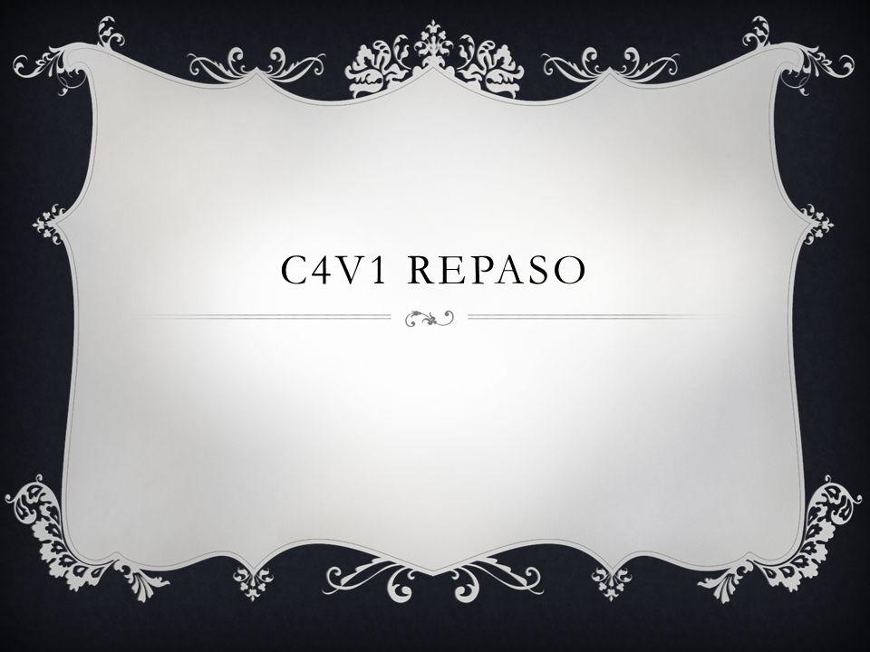 C4V1 REPASO