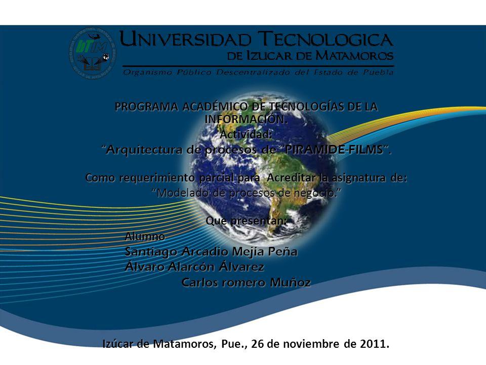 PROGRAMA ACADÉMICO DE TECNOLOGÍAS DE LA INFORMACIÓN.