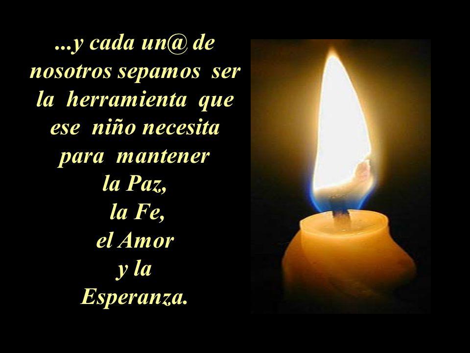 La llama de la esperanza nunca debe apagarse en tu vida…