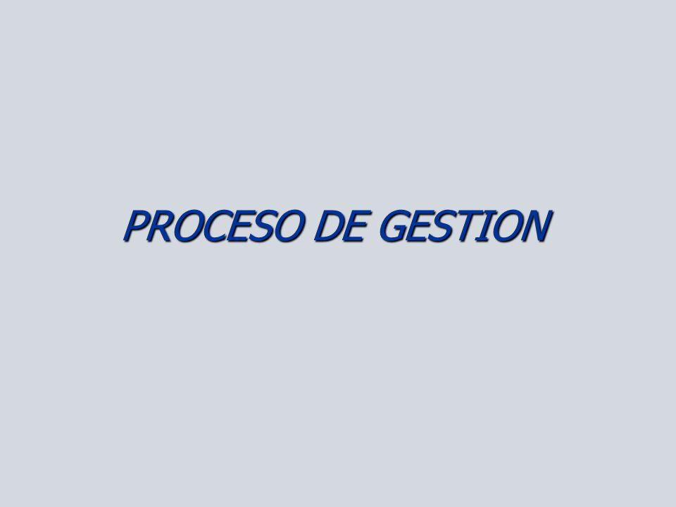 PROCESO DE GESTION
