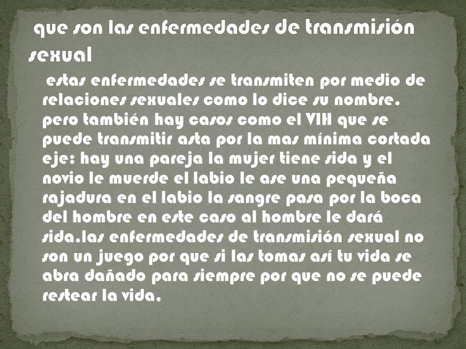 a cargo de: Fernando v. área: biología. profesora: Carolina Gomes. tema: enfermedades de transmisión sexual. grado:7