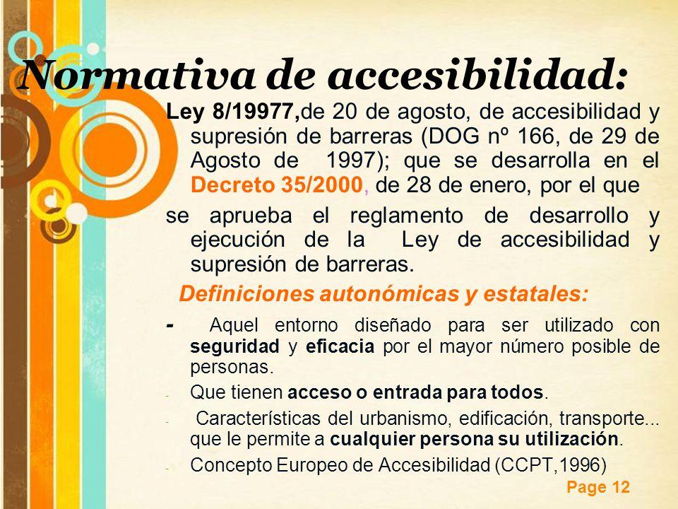 Resultado de imagen de ley de accesibilidad