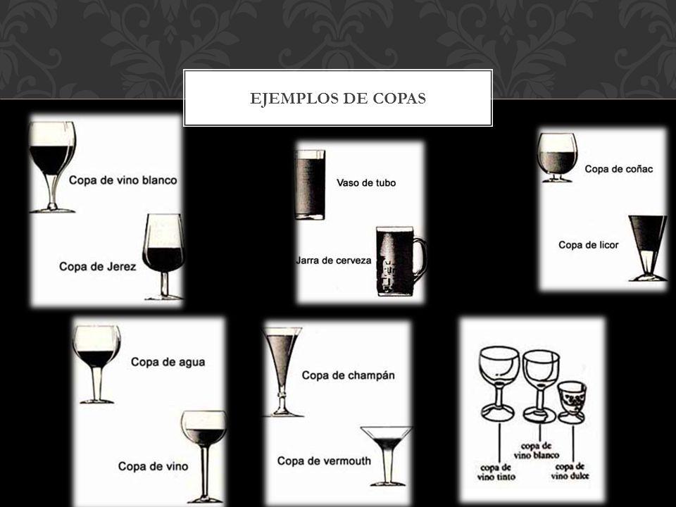 EJEMPLOS DE COPAS