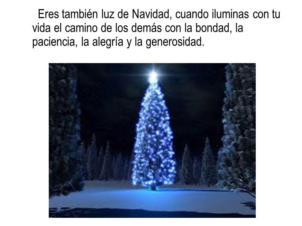 Y recuerden: Que Santa Claus no ocupe el lugar del Niño Dios en la Navidad .