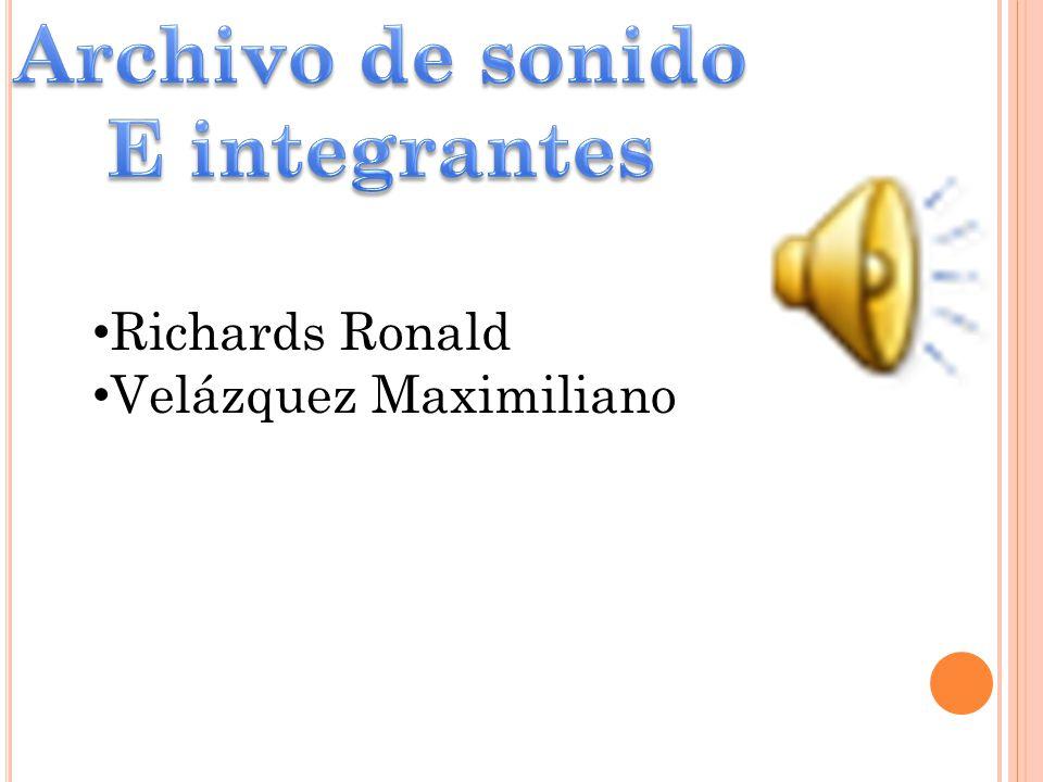 Richards Ronald Velázquez Maximiliano