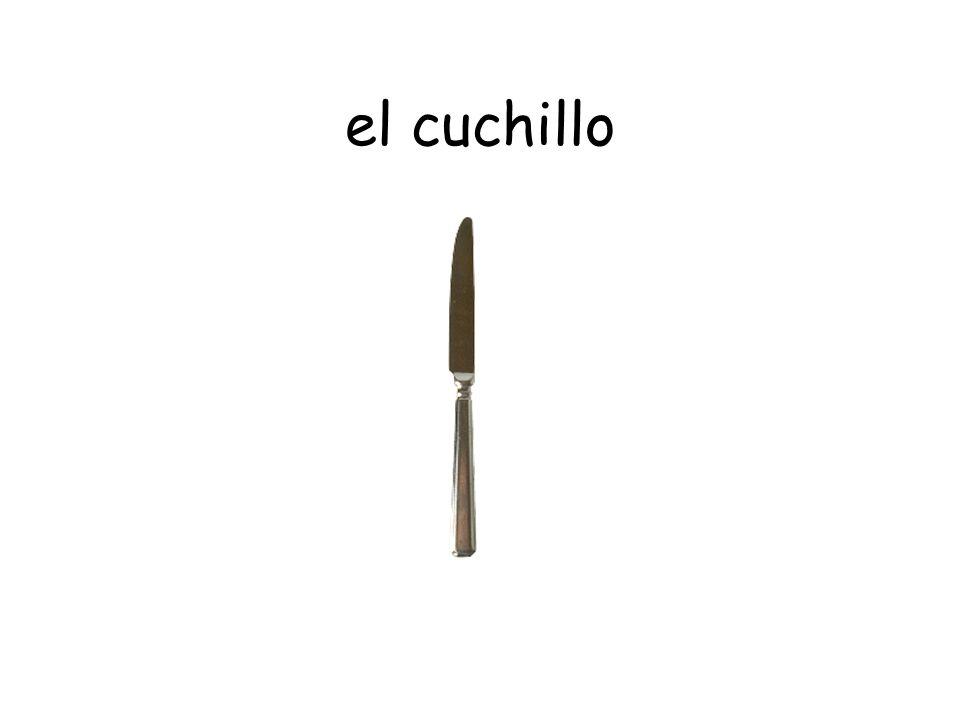 la cuchara / la cucharita