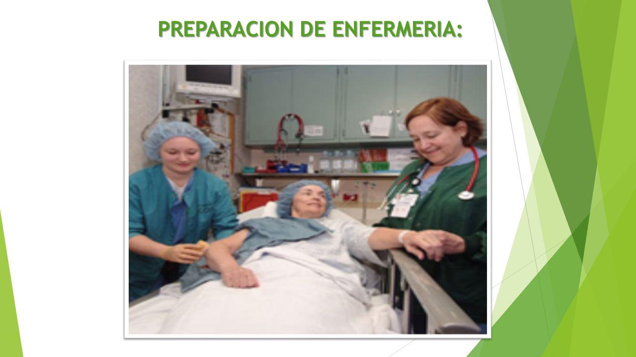 PREPARACION DE ENFERMERIA: