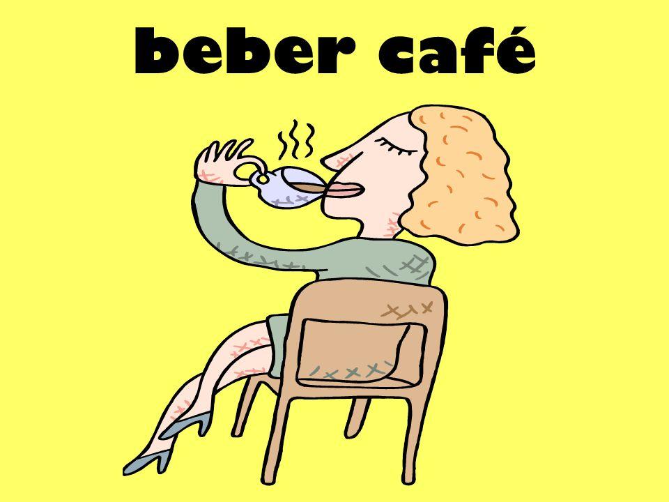 beber café