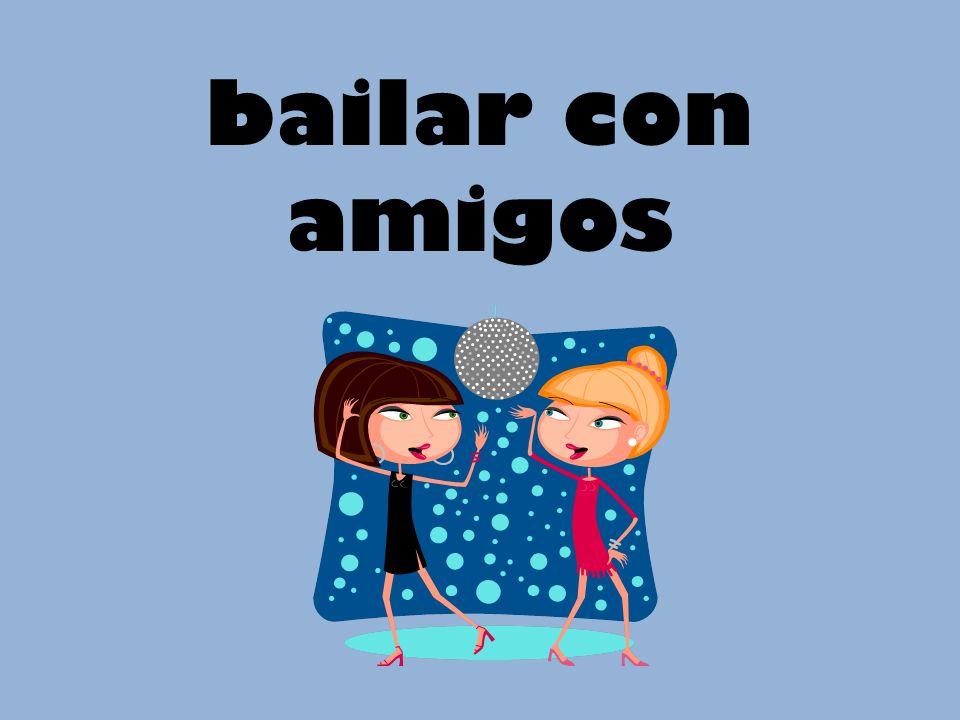 bailar con amigos
